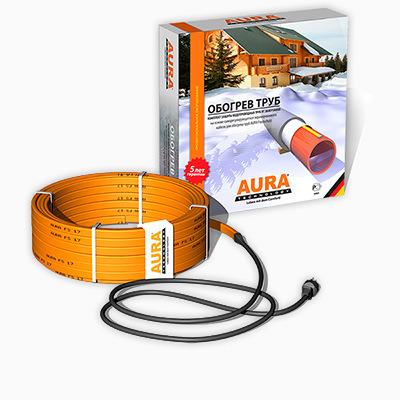 Комплекты для подогрева и защиты от замерзания труб AURA FS